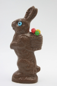 12 Ounce Chocolate Bunny with Basket